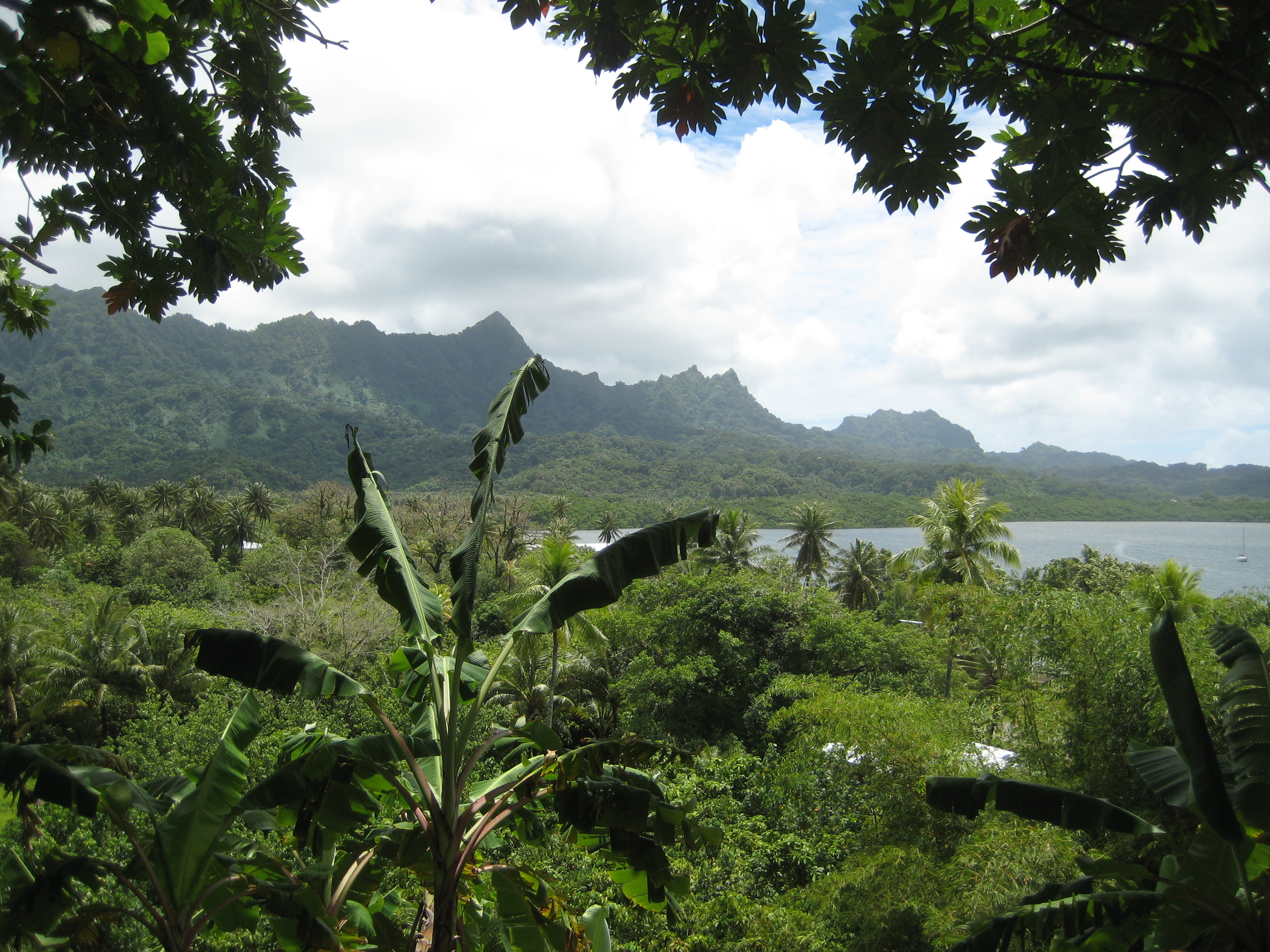 The Sleeping Lady of Kosrae (courtesy of cbarros)